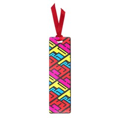 Color Red Yellow Blue Graffiti Small Book Marks by Mariart