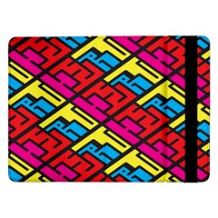 Color Red Yellow Blue Graffiti Samsung Galaxy Tab Pro 12 2  Flip Case by Mariart