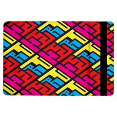 Color Red Yellow Blue Graffiti Ipad Air Flip by Mariart