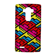 Color Red Yellow Blue Graffiti Lg G4 Hardshell Case by Mariart