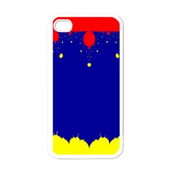 Critical Points Line Circle Red Blue Yellow Apple Iphone 4 Case (white) by Mariart