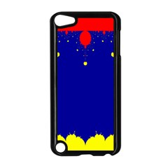 Critical Points Line Circle Red Blue Yellow Apple Ipod Touch 5 Case (black) by Mariart