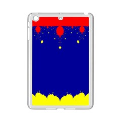 Critical Points Line Circle Red Blue Yellow Ipad Mini 2 Enamel Coated Cases by Mariart