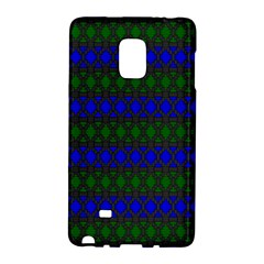 Diamond Alt Blue Green Woven Fabric Galaxy Note Edge by Mariart