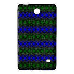 Diamond Alt Blue Green Woven Fabric Samsung Galaxy Tab 4 (8 ) Hardshell Case  by Mariart