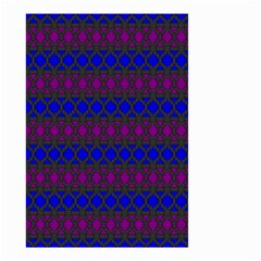 Diamond Alt Blue Purple Woven Fabric Small Garden Flag (two Sides) by Mariart
