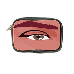 Eye Difficulty Red Coin Purse by Mariart