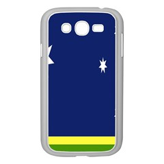 Flag Star Blue Green Yellow Samsung Galaxy Grand Duos I9082 Case (white) by Mariart