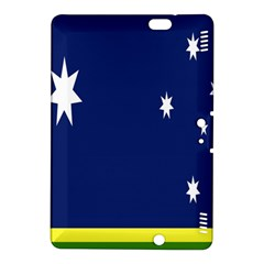 Flag Star Blue Green Yellow Kindle Fire Hdx 8 9  Hardshell Case by Mariart