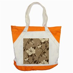Floral Flower Rose Leaf Grey Accent Tote Bag by Mariart
