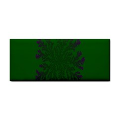 Dendron Diffusion Aggregation Flower Floral Leaf Green Purple Cosmetic Storage Cases by Mariart