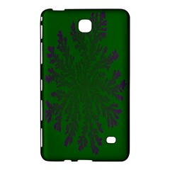 Dendron Diffusion Aggregation Flower Floral Leaf Green Purple Samsung Galaxy Tab 4 (8 ) Hardshell Case  by Mariart