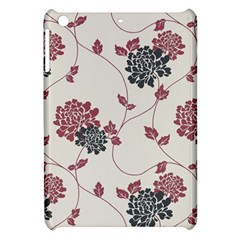 Flower Floral Black Pink Apple Ipad Mini Hardshell Case by Mariart