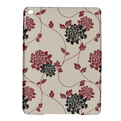 Flower Floral Black Pink Ipad Air 2 Hardshell Cases by Mariart