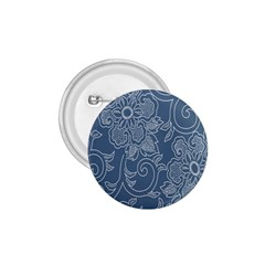 Flower Floral Blue Rose Star 1 75  Buttons by Mariart