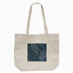 Flower Floral Blue Rose Star Tote Bag (cream) by Mariart