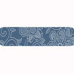 Flower Floral Blue Rose Star Large Bar Mats by Mariart