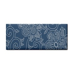 Flower Floral Blue Rose Star Cosmetic Storage Cases by Mariart