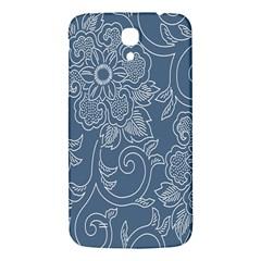 Flower Floral Blue Rose Star Samsung Galaxy Mega I9200 Hardshell Back Case by Mariart