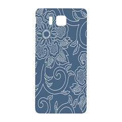 Flower Floral Blue Rose Star Samsung Galaxy Alpha Hardshell Back Case by Mariart