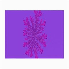 Dendron Diffusion Aggregation Flower Floral Leaf Red Purple Small Glasses Cloth by Mariart