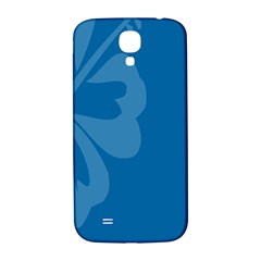 Hibiscus Sakura Classic Blue Samsung Galaxy S4 I9500/i9505  Hardshell Back Case by Mariart