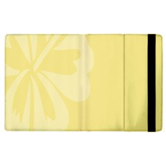 Hibiscus Custard Yellow Apple Ipad 3/4 Flip Case by Mariart