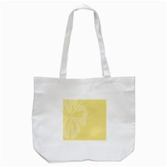 Hibiscus Custard Yellow Tote Bag (white) by Mariart