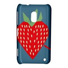 Fruit Red Strawberry Nokia Lumia 620 by Mariart