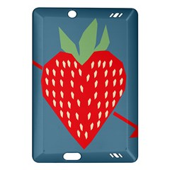 Fruit Red Strawberry Amazon Kindle Fire Hd (2013) Hardshell Case by Mariart