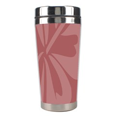 Hibiscus Sakura Red Stainless Steel Travel Tumblers by Mariart