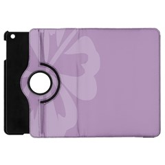 Hibiscus Sakura Lavender Herb Purple Apple Ipad Mini Flip 360 Case by Mariart