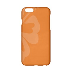 Hibiscus Sakura Tangerine Orange Apple Iphone 6/6s Hardshell Case by Mariart