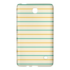 Horizontal Line Yellow Blue Orange Samsung Galaxy Tab 4 (8 ) Hardshell Case  by Mariart