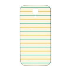Horizontal Line Yellow Blue Orange Samsung Galaxy S4 I9500/i9505  Hardshell Back Case by Mariart