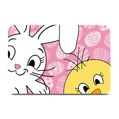 Easter Bunny And Chick  Plate Mats