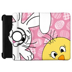 Easter Bunny And Chick  Kindle Fire Hd 7  by Valentinaart