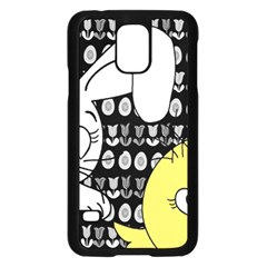 Easter Bunny And Chick  Samsung Galaxy S5 Case (black) by Valentinaart