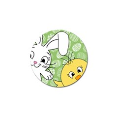 Easter Bunny And Chick  Golf Ball Marker (10 Pack) by Valentinaart