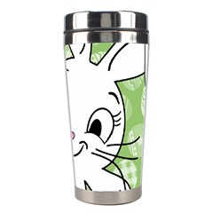 Easter Bunny And Chick  Stainless Steel Travel Tumblers by Valentinaart