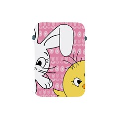 Easter Bunny And Chick  Apple Ipad Mini Protective Soft Cases by Valentinaart