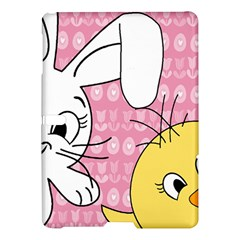 Easter Bunny And Chick  Samsung Galaxy Tab S (10 5 ) Hardshell Case  by Valentinaart