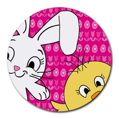 Easter Round Mousepads by Valentinaart