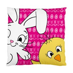 Easter Standard Cushion Case (one Side) by Valentinaart