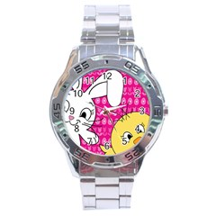 Easter Stainless Steel Analogue Watch by Valentinaart