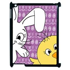 Easter Apple Ipad 2 Case (black) by Valentinaart