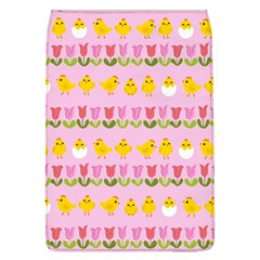 Easter   Chick And Tulips Flap Covers (l)  by Valentinaart