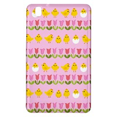 Easter   Chick And Tulips Samsung Galaxy Tab Pro 8 4 Hardshell Case by Valentinaart