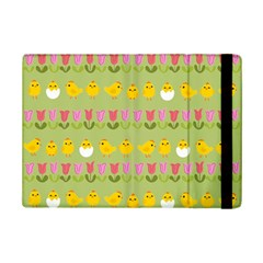 Easter   Chick And Tulips Ipad Mini 2 Flip Cases by Valentinaart