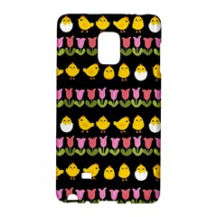 Easter   Chick And Tulips Galaxy Note Edge by Valentinaart